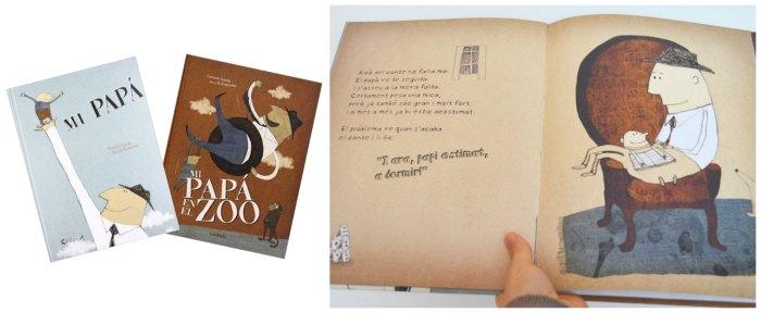cuentos infantiles desarrollar fomentar empatia niños, mi papa y mi papa en el zoo kokinos