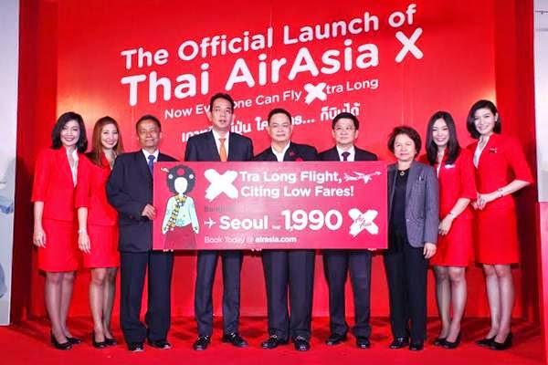 タイエアアジアXが正式発表!まずは6月19日にバンコク-ソウル線から!
