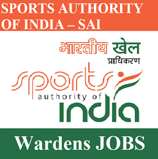 Sports Authority of India, SAI, Warden, Delhi, Graduation, freejobalert, Sarkari Naukri, Latest Jobs, sai logo
