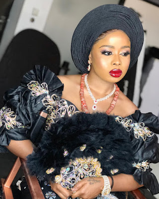 Queen of Oyo,Olori Ajoke Badirat Adeyemi latest photos