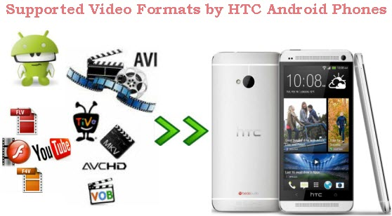 HTC Video Format: Convert Videos, DVD, Blu-ray to HTC Android Phones