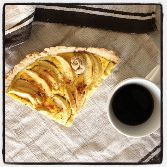 tarte pommes healthy sans sucre ni beurre cannelle