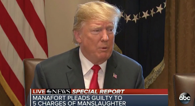 CHYRON MALFUNCTION: ABC Apologizes For Graphic Declaring Manafort Pleaded Guilty to Manslaughter