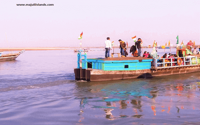 Ferry Service Of Majuli Island