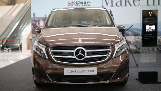 Mercedes V220 d AVANTGARDE có tính năng công nghệ vượt trội