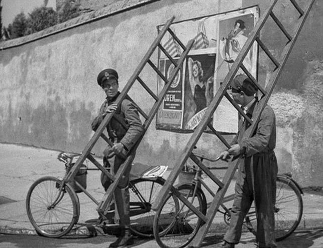 "mise en scene bicycle thief This paper ""mise-en-scene: the bicycle thief"" analyses the setting of a single  scene in the film ""the bicycle thief"" directed by vittorio de sica and released."