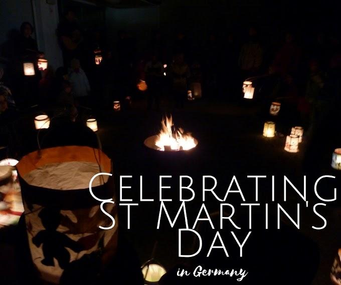Celebrating St Martin in Germany