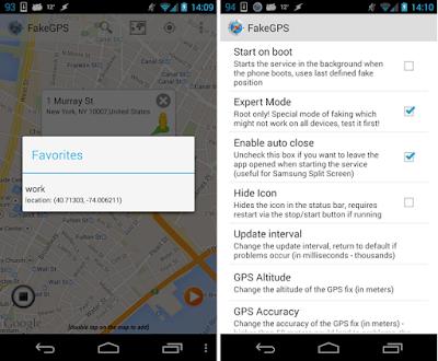 Fake GPS Location Spoofer v4.7 Apk