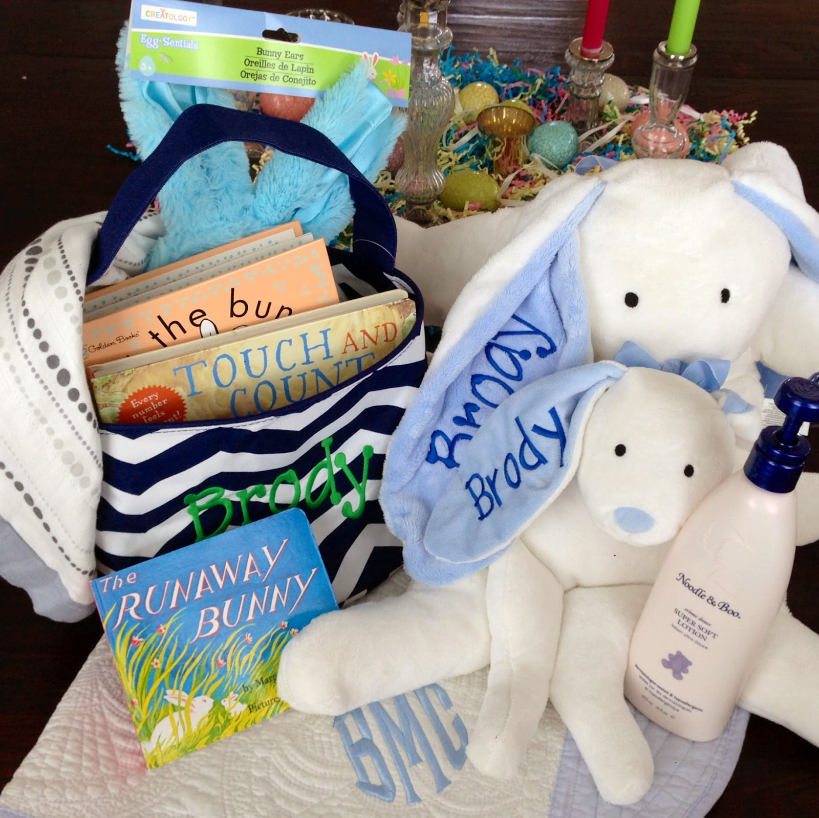Home Of Malones: Brody's Easter Basket + A PIZZAZ Giveaway
