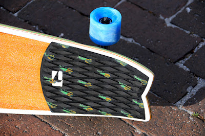 stomp pad surf tail longboard skateboard
