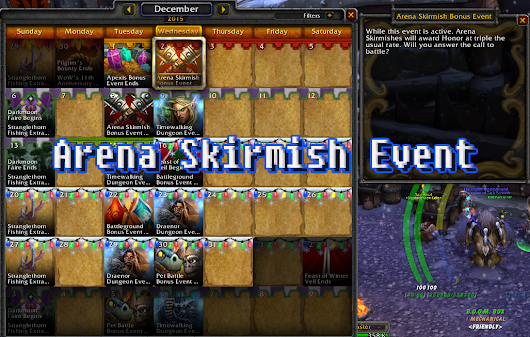 Arena Skirmish Bonus Event
