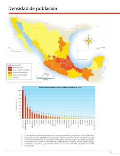 Apoyo Primaria Atlas de México 4to Grado Bloque II Lección 8 Población total