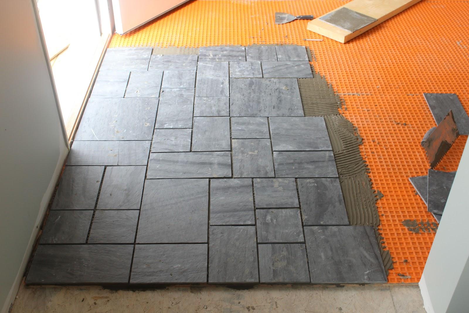 Avente Tile Talk Installing a slate tile floor