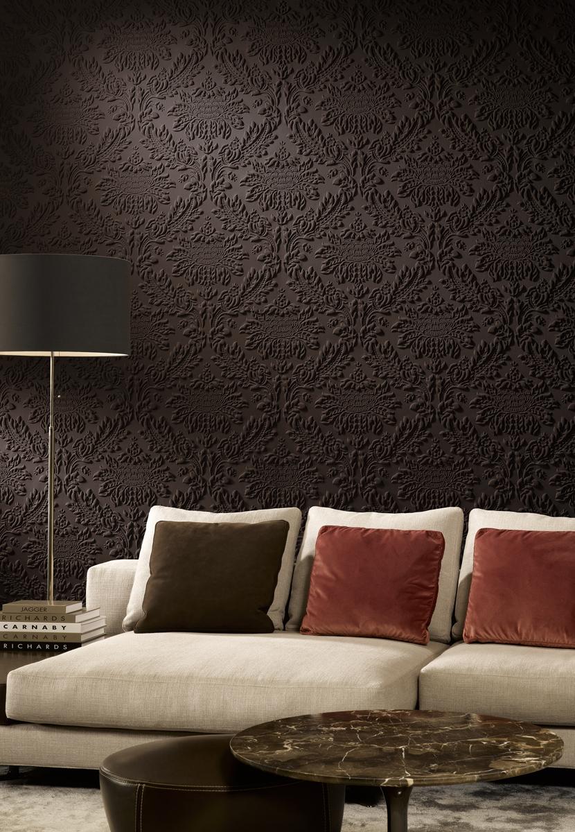 decoratiuni interioare tapet 3d din spuma izolator fonic. Black Bedroom Furniture Sets. Home Design Ideas