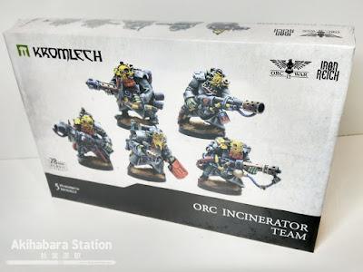 Orc Incinerator Team - Kromlech