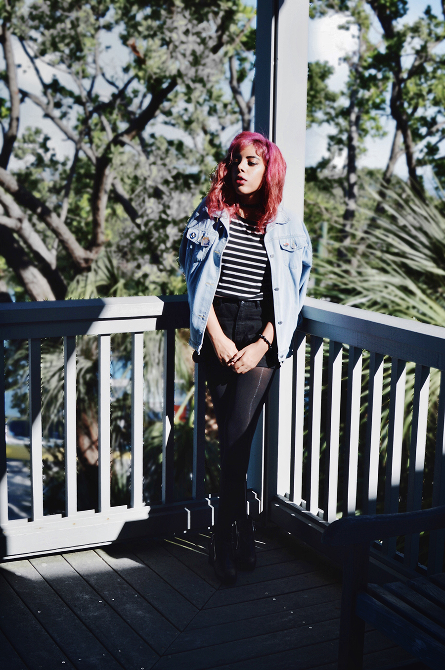 Wiccan Tumblr Indie Fashion Blogger Anais Alexandre of Down to Stars