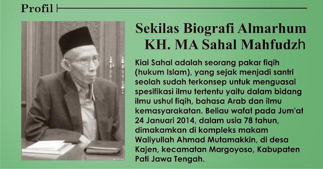 Biografi K.H. MA Sahal Mahfudz lpm bursa