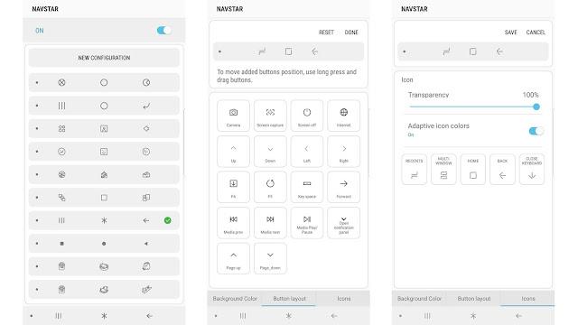 """تحديث جدبد بضيف لتطبيق Good Lock المكوّن الإضافي """"NavStar""""  لتخصيص شريط التنقل"""