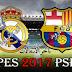 تحميل لعبة  الاسطورة بيس 17 || PES 2017 PSP للاندرويد باخر الانتقالات