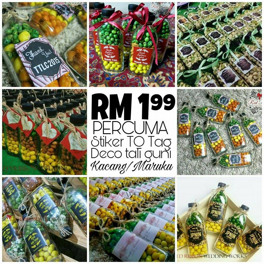 Promo doorgift botol murah rrww your unique wedding for Idea untuk doorgift perkahwinan