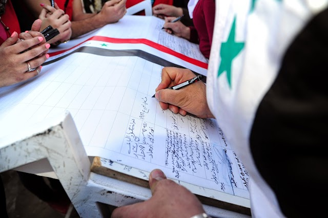 A 10 km love letter to Syria