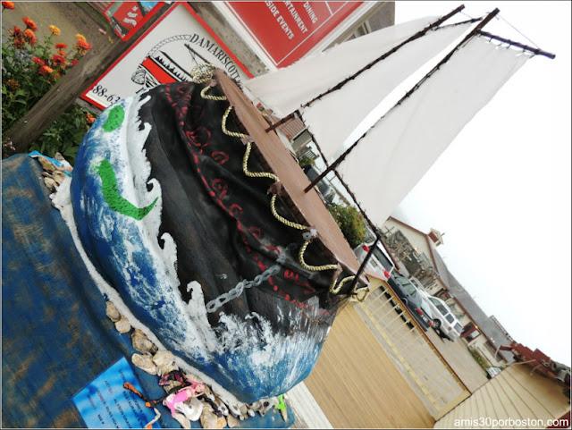 Calabazas Decoradas para Halloween: Barco Velero