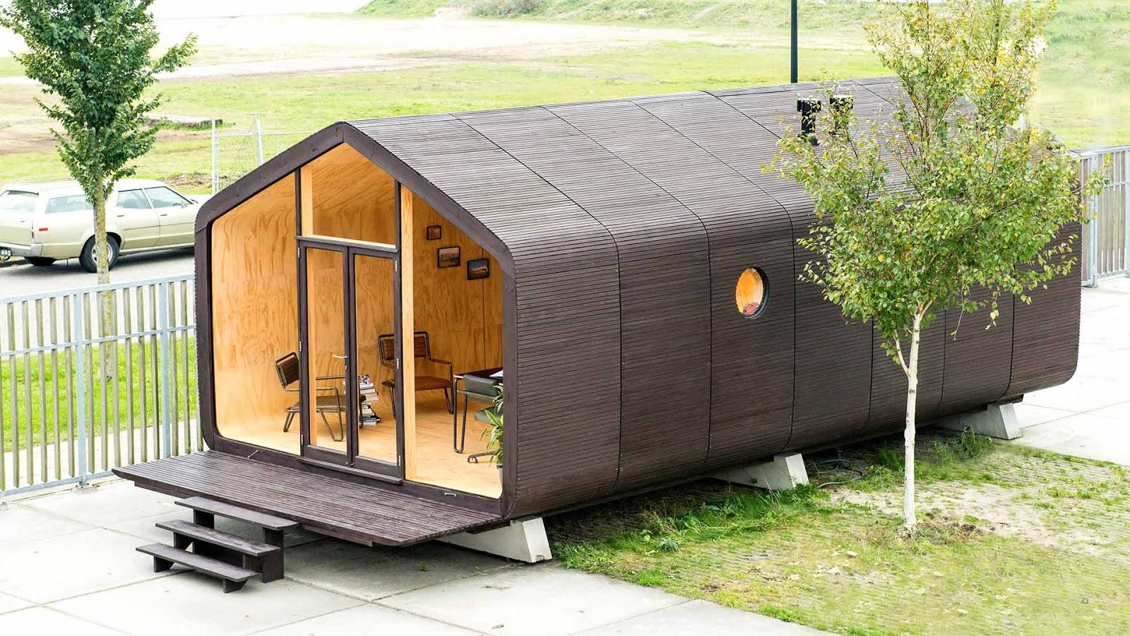 Casas modulares y prefabricadas de dise o la casa for Casas prefabricadas para jardin