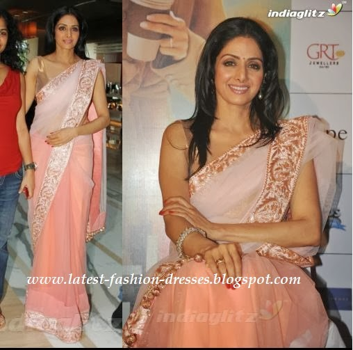 Bollywood actress sri devi saree photos