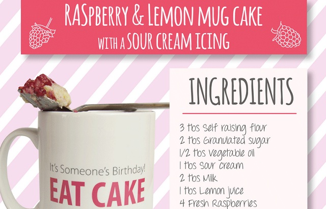 Image: Mug Cake Recipes #infographic