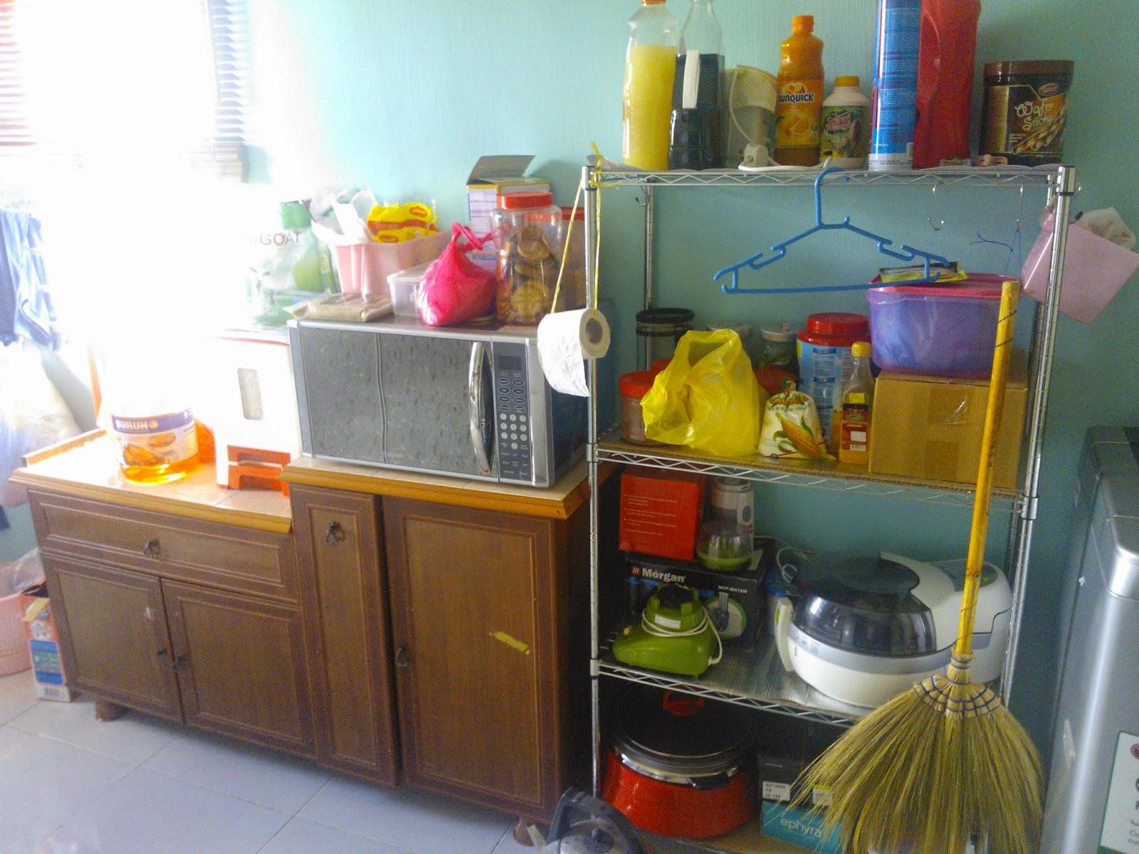 When Ijun Write Spring Cleaning Kemas Dapur Mana Yang Termampu