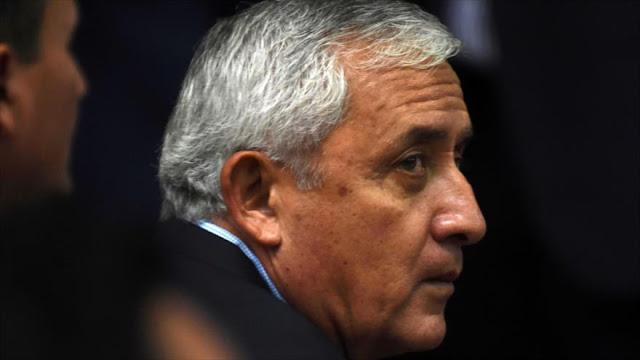 Expresidente de Guatemala: soy víctima de un golpe planeado por EEUU