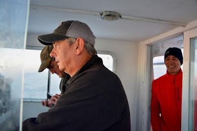 Pescaturismo Mallorca Los pescadores en el barco Nou Dos Joans