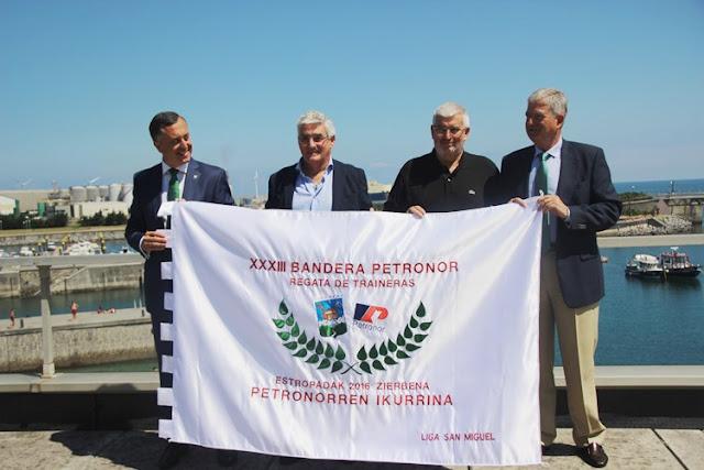 Presentación de la XXXIII Bandera Petronor