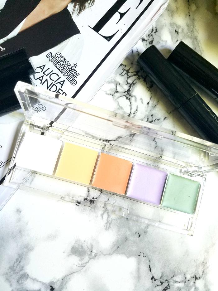 SLA Paris - Pro Palette 5 Cream Correctors - 10g - 30.00 Euro - Madame keke beauty blog