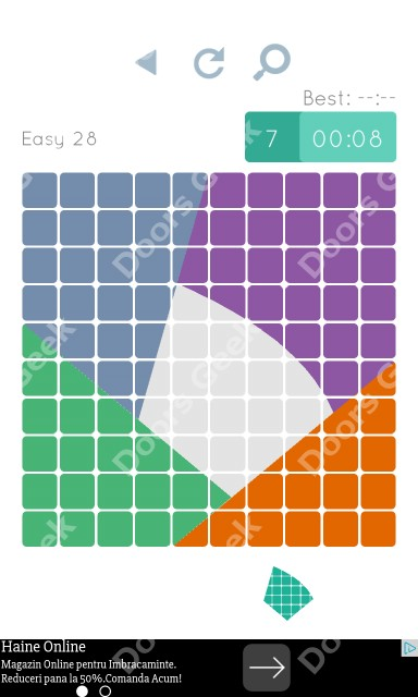 Cheats, Walkthrough for Blocks and Shapes Level 28
