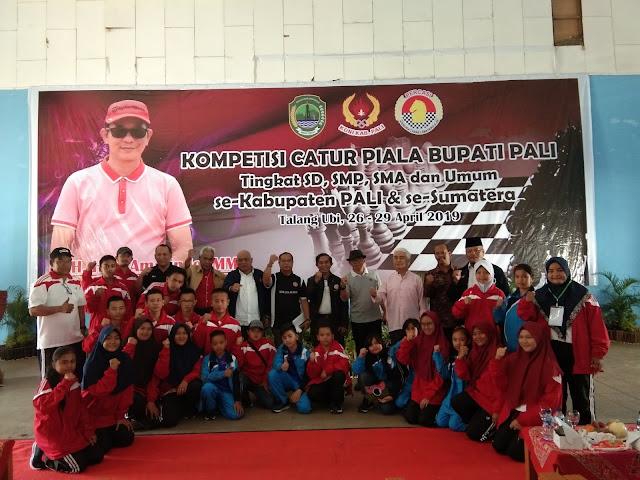 Percasi PALI Kembali Gelar Kompetisi Catur se Sumatera