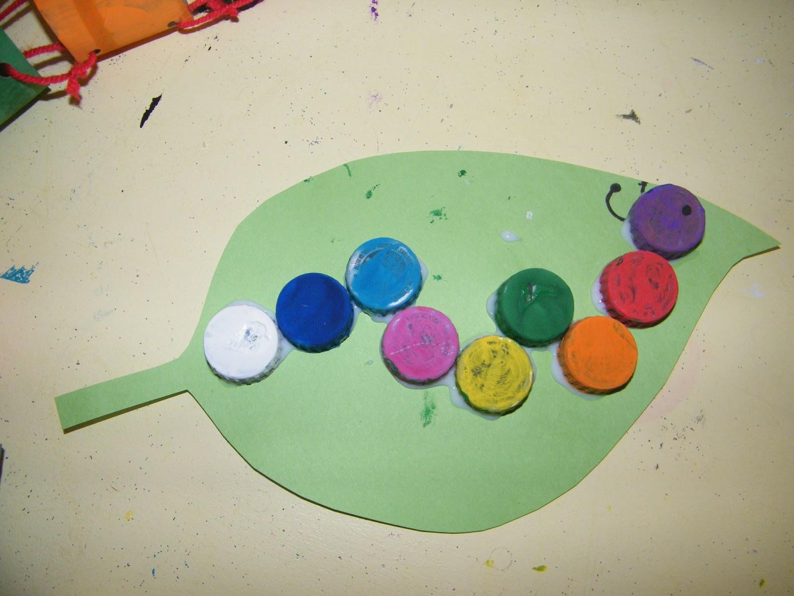 Adventures In Mommy Land Caterpillar Craft Day