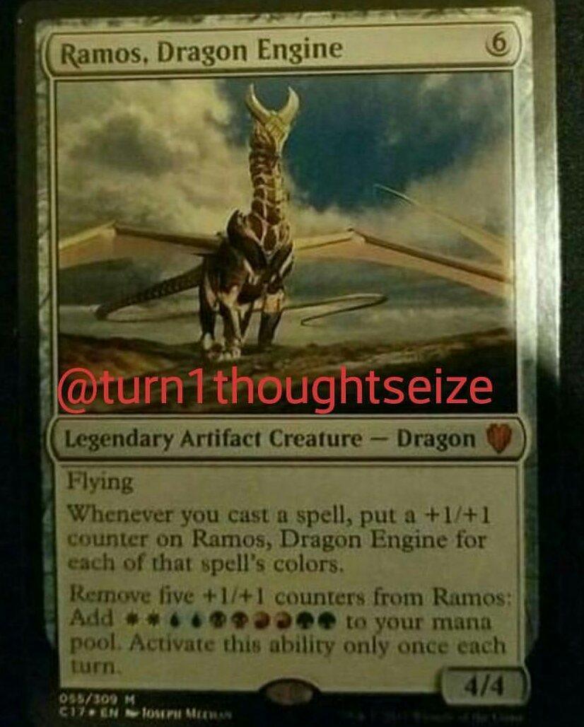 STEEL HELLKITE Commander 2017 MTG Artifact Creature — Dragon Rare