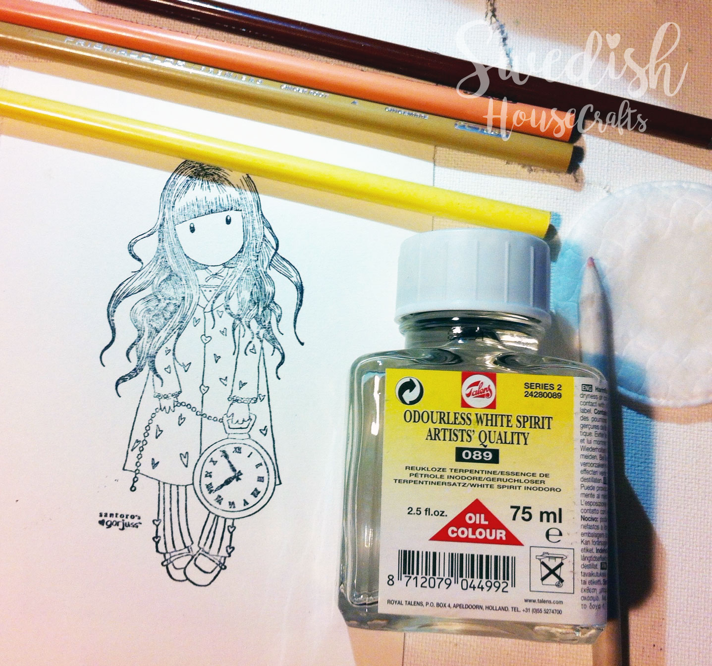 Prismacolor Pencils in Details