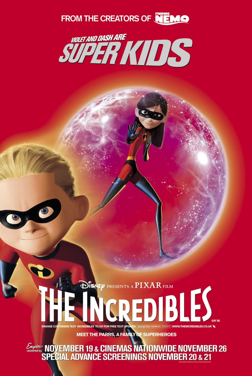 The Incredible Felted Fashion Of Barbara Poole: The Geeky Nerfherder: Movie Poster Art: The Incredibles (2004