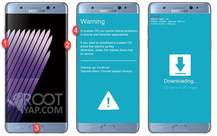 Samsung Galaxy A7 2017 Root Yapma, TWRP Yükleme