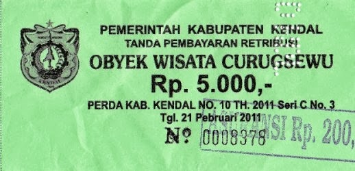 Tiket Curugsewu | wonderful Indonesia
