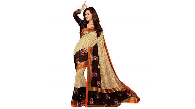 20524d5526d33e Saree(Krishna Fab Saree for Women Party Wear Offer Designer Below 1000  Rupees Latest Design