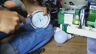 Cara Mudah Mengetahui Bagian Rusak Pada Lampu LED