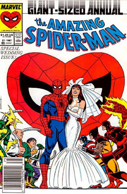 Spider-Man Annual 21 1987 Paul Ryan wedding