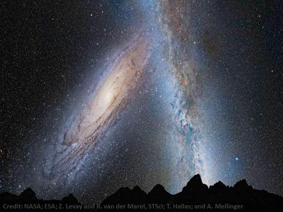 ماذا سيحدث لو تصادمت المجرات ؟