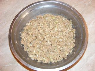 retete umplutura suberek de post cu soia ceapa si condimente,
