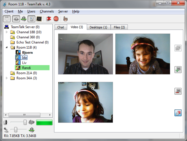 TeamTalk 5.1.7 - H δωρεάν επικοινωνία με φίλους αλλά και με συνεργάτες