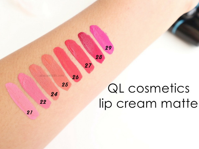 QL COSMETICS LIP MATTE CREAM