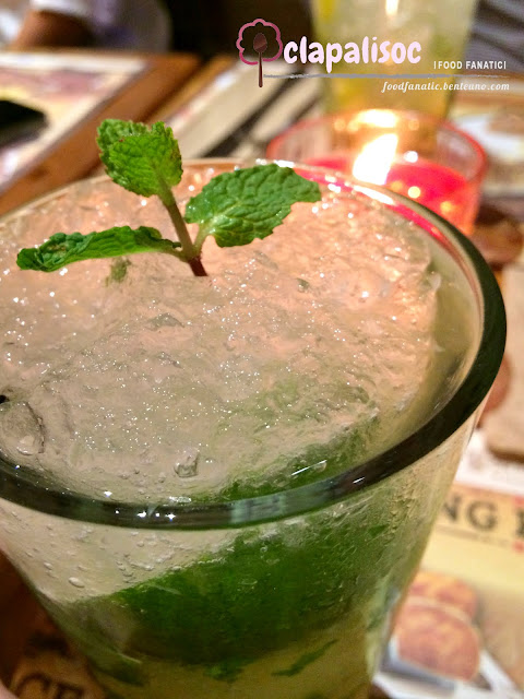 Morganfield's Manila Virgin Apple Mojito